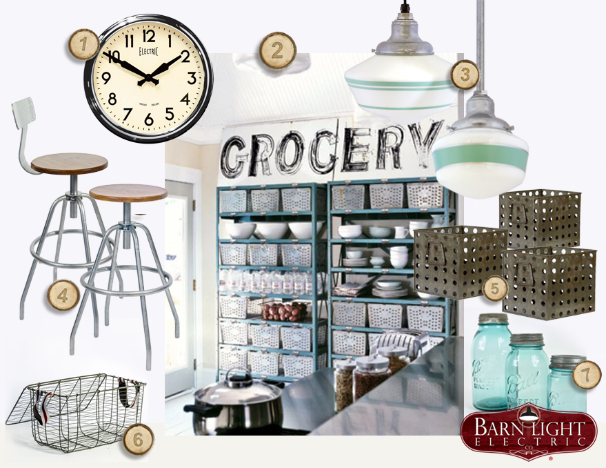 grocery industrial kitchen