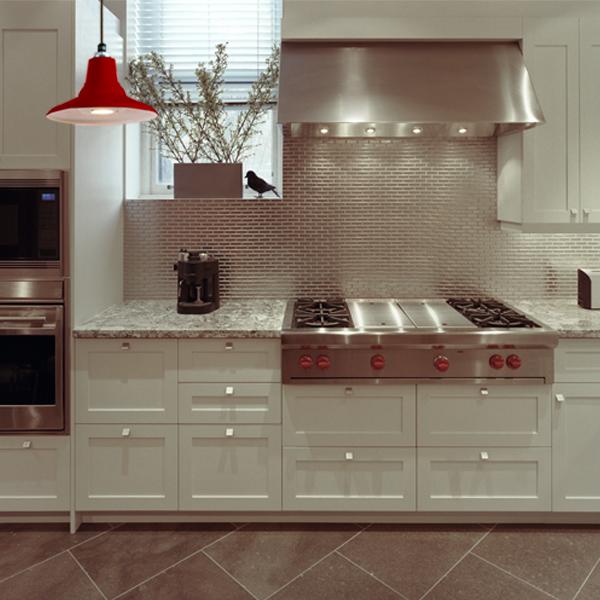 modern kitchen LED facebook graphic red cherry aero