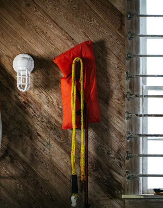 atomic topless streamline industrial sconce