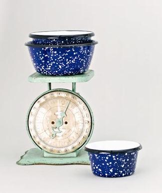 cobalt enamelware nesting