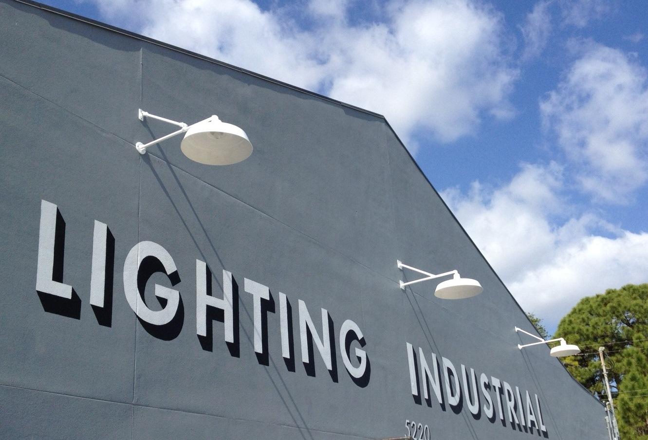 the original warehouse gooseneck light commercial
