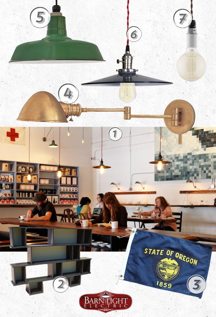 style me sunday barista parlour industrial pendant lighting styleboard