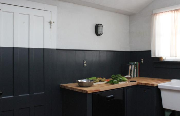 bulkhead wall sconce kitchen