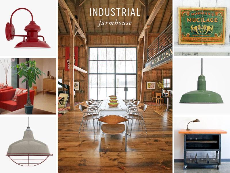 style me sunday industrial farmhouse loft style