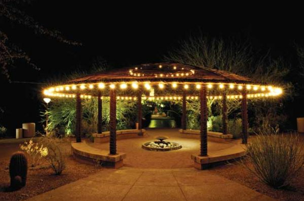 cafe string lights outdoor lighting