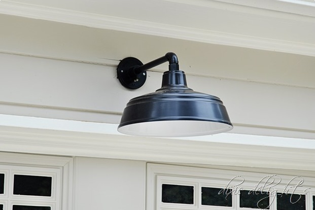 all weather farm light wall mount