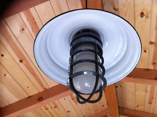 ivanhoe bomber porcelain pendant lighting