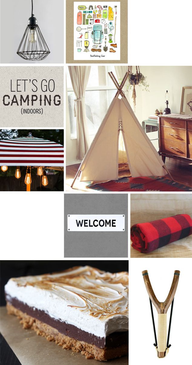 camping indoors style board barn light electric
