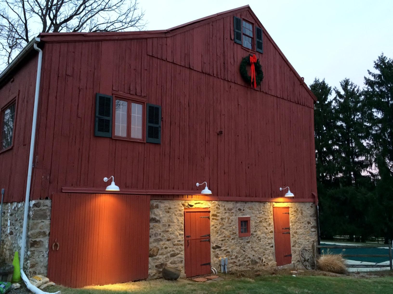 discount barn lighting exterior