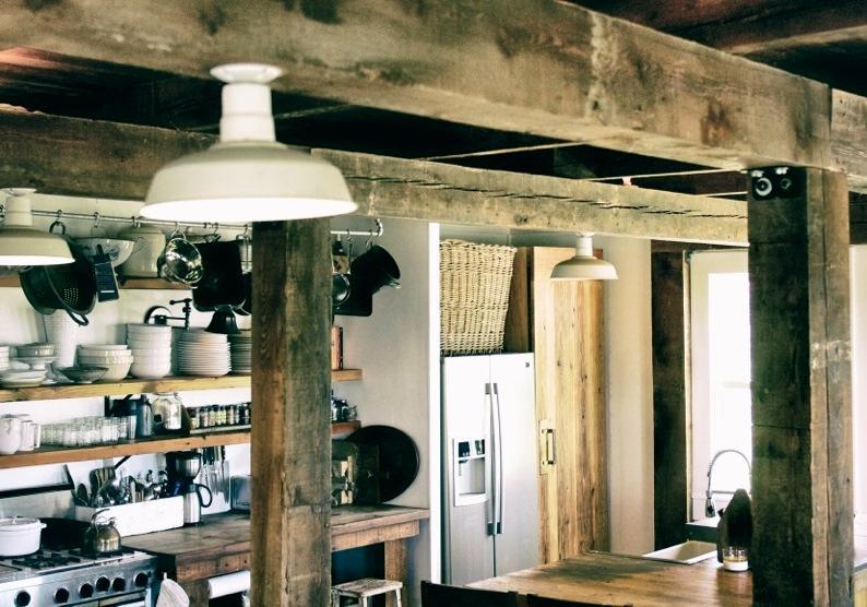 barn light original flush mount kitchen