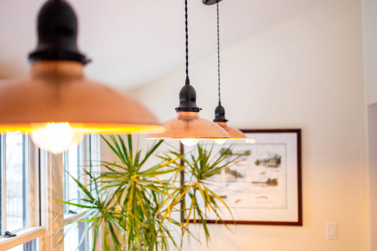 cord hung lighting