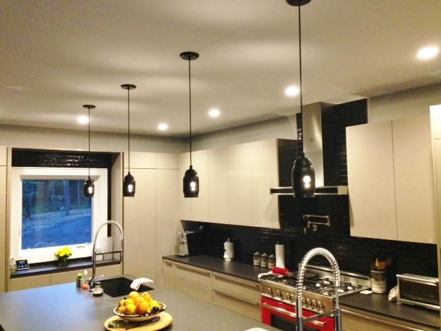 mig industrial lights kitchen