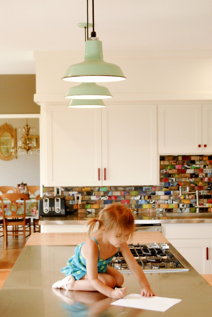pendant lighting kitchen porcelain enamel