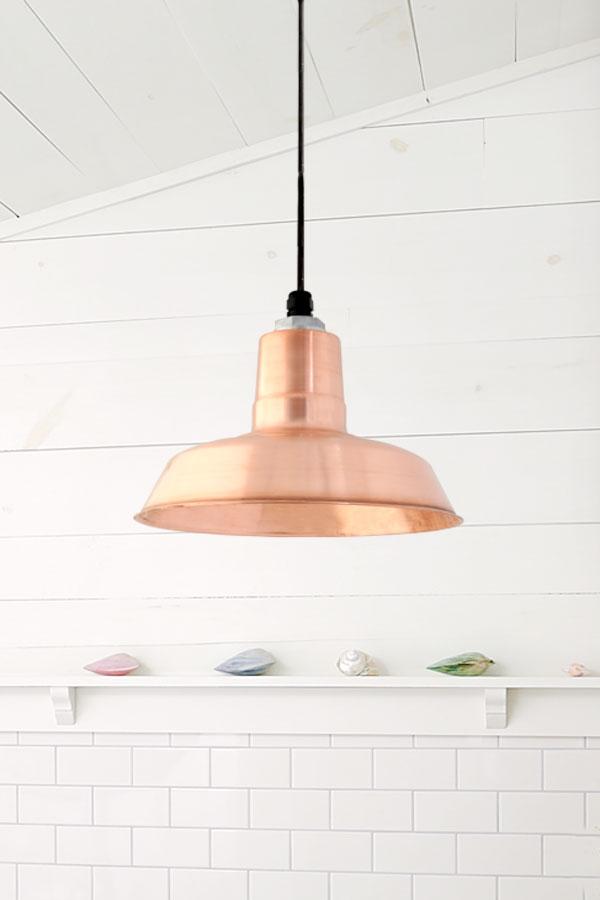 copper original pendant