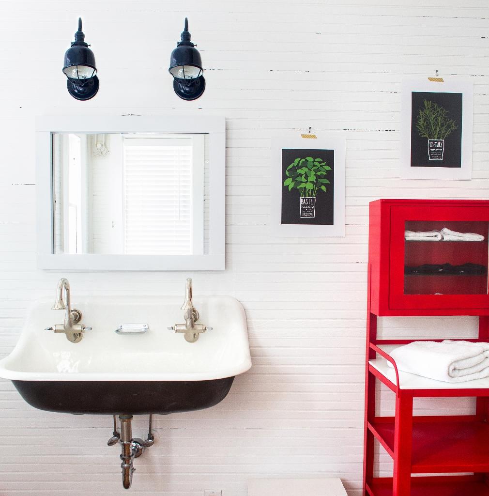 fargo barn wall sconce bathroom