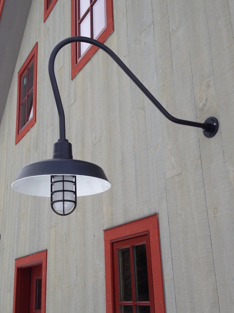 American Made Gooseneck Barn Lighting