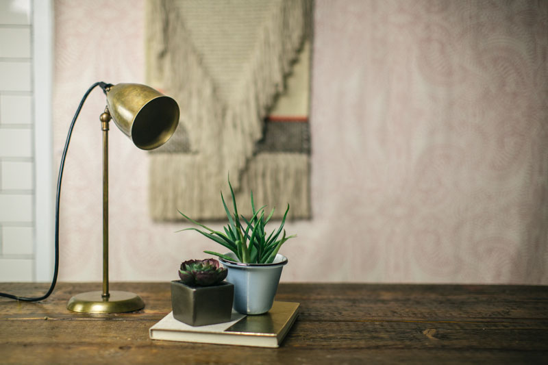 lovell table lamp weathered brass
