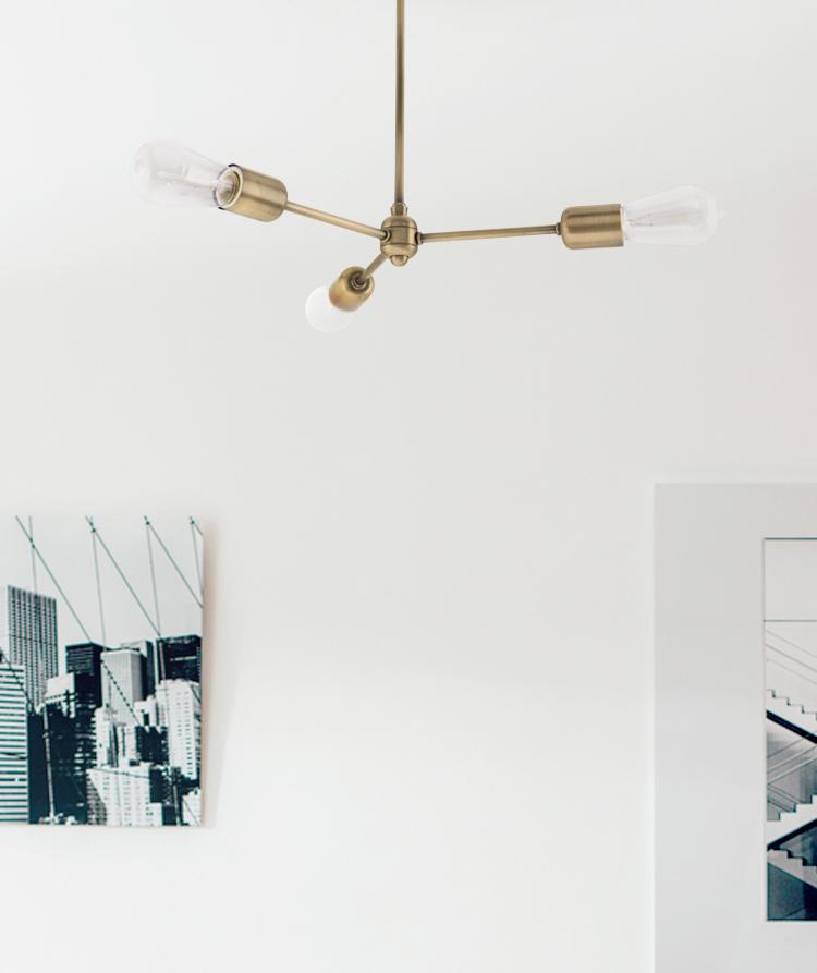 modern chandelier pendant