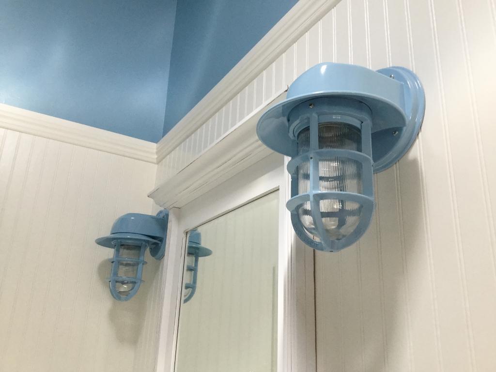 bathroom wall sconces