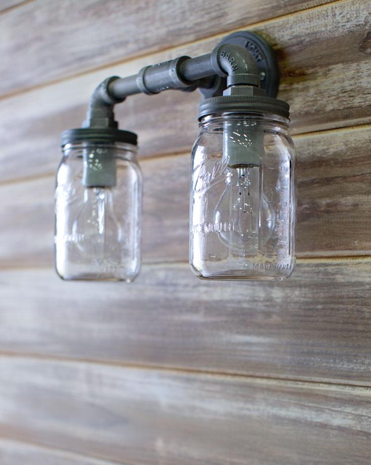 jar sconce