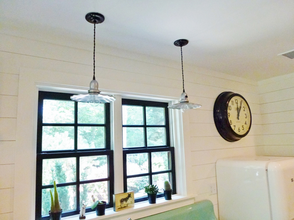 fluted shade pendant lighting