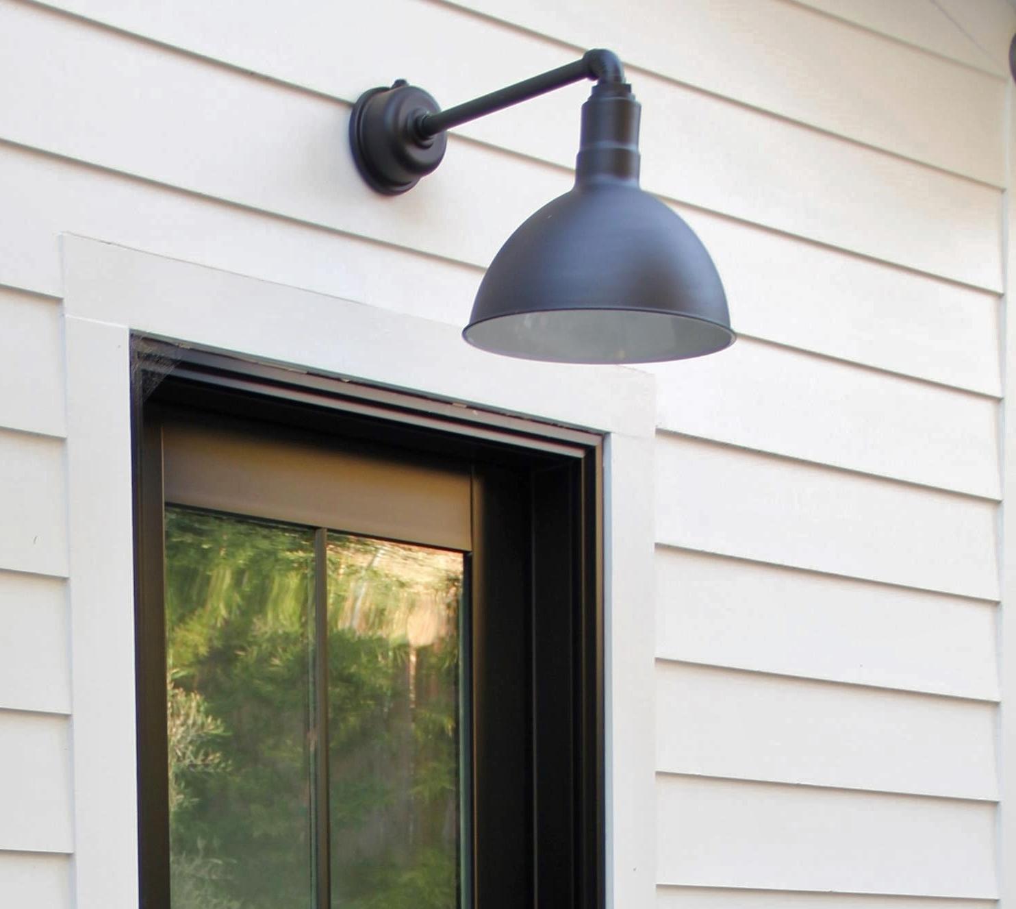 wesco gooseneck barn light 1