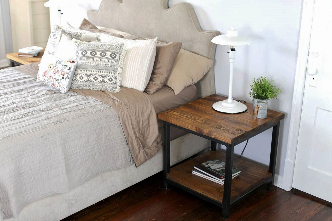 handcrafted nightstand