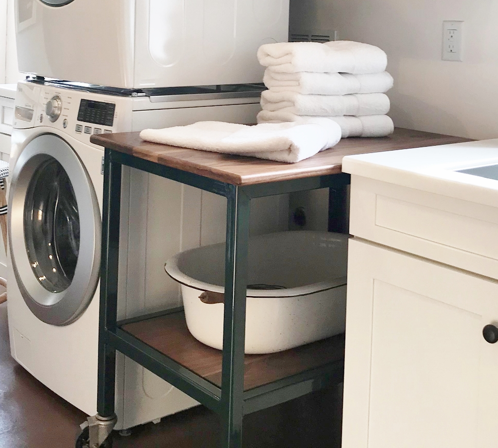 laundry room cart