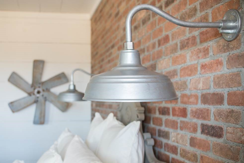 galvanized gooseneck lighting