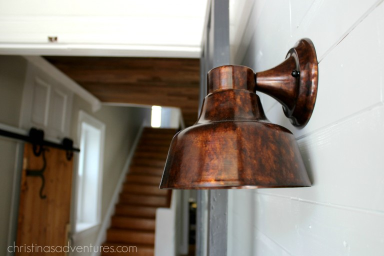 bowie copper wall sconce light