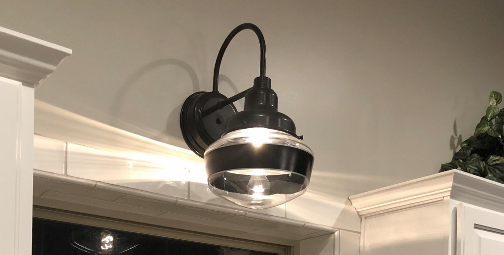 schoolhouse light wall sconce
