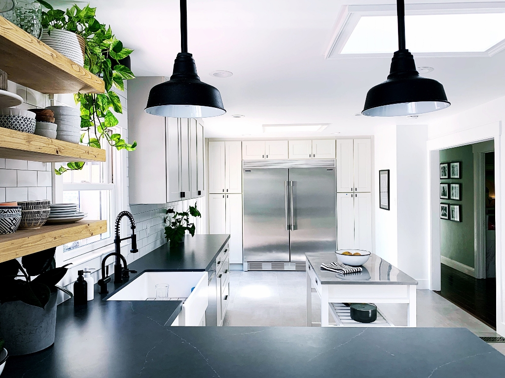 Barn Pendant Lights Are Keepers During Kitchen Remodel Inspiration Barn Light Electric