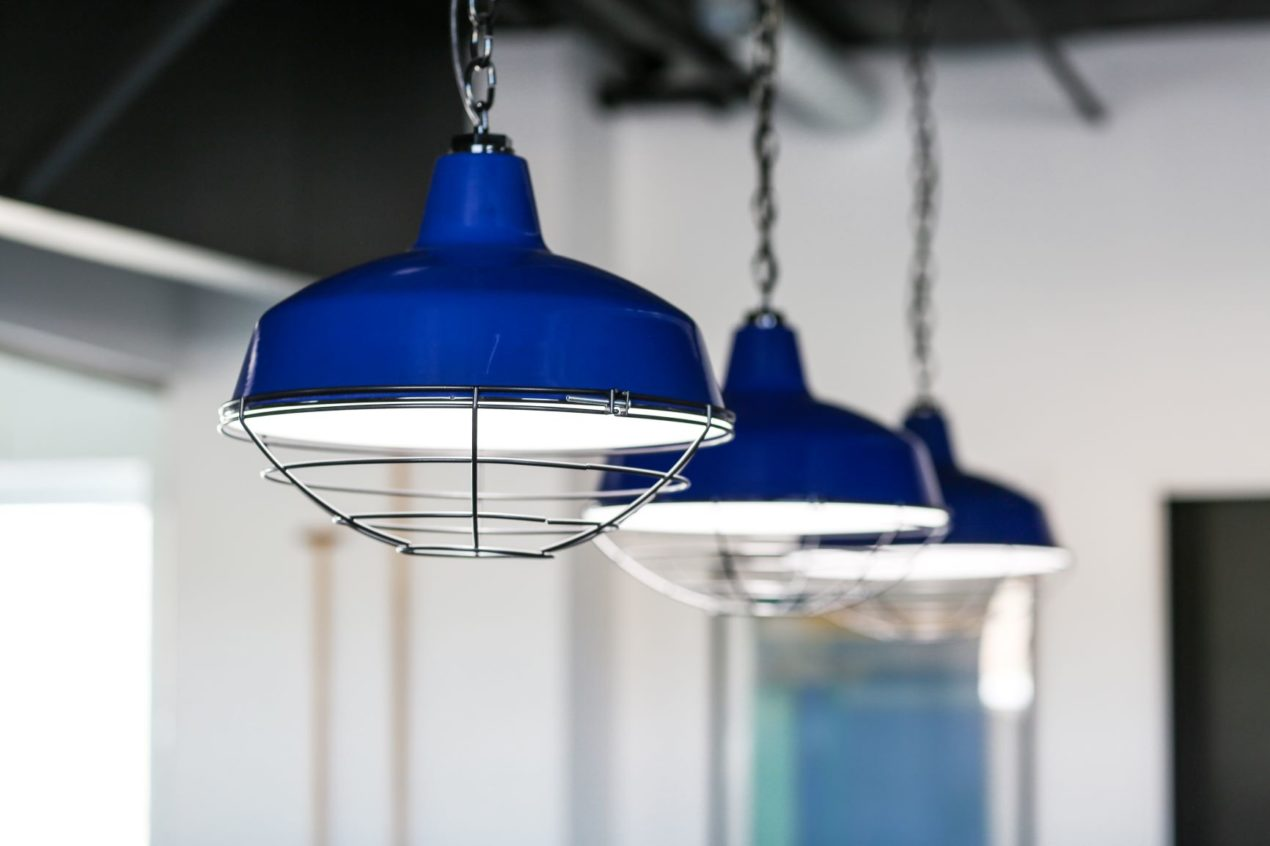 chain hung pendant lighting