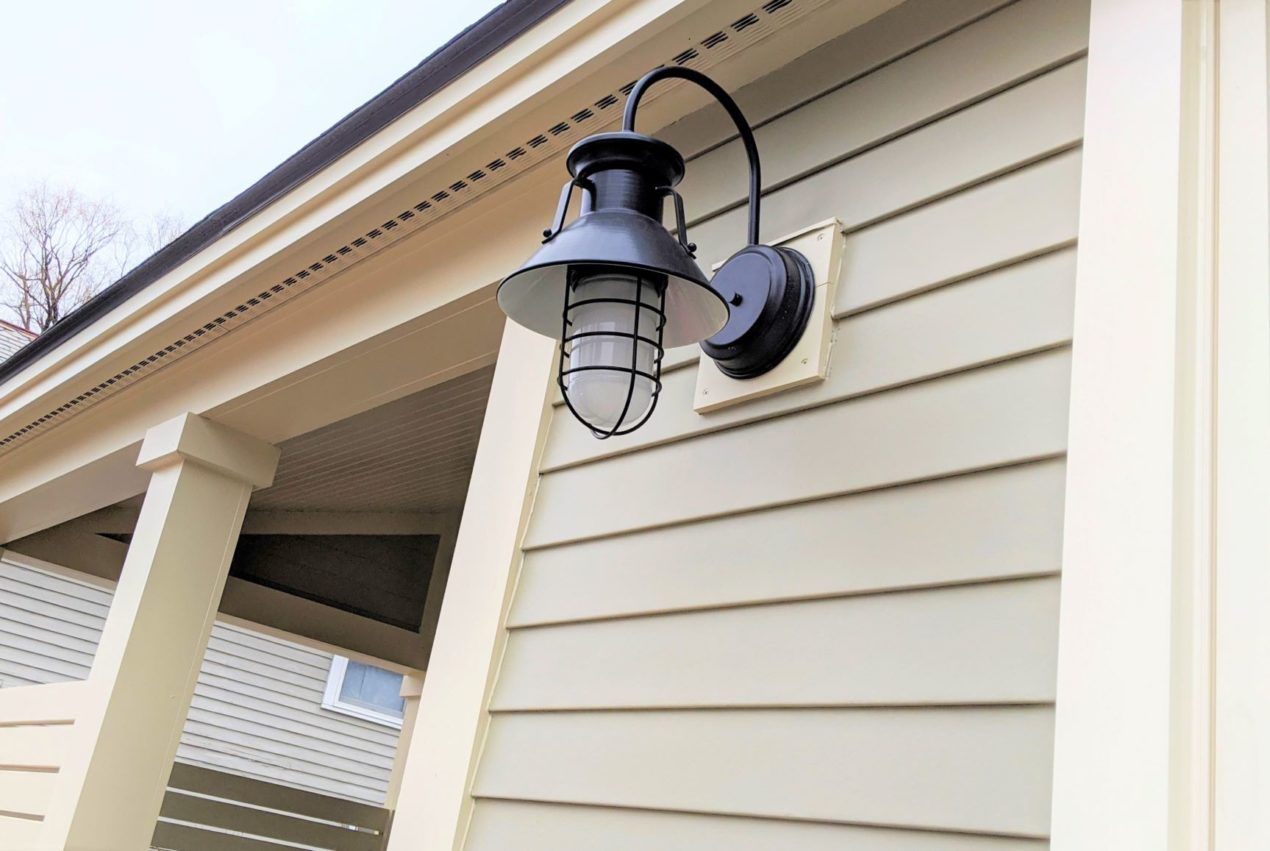 exterior lighting wall sconce