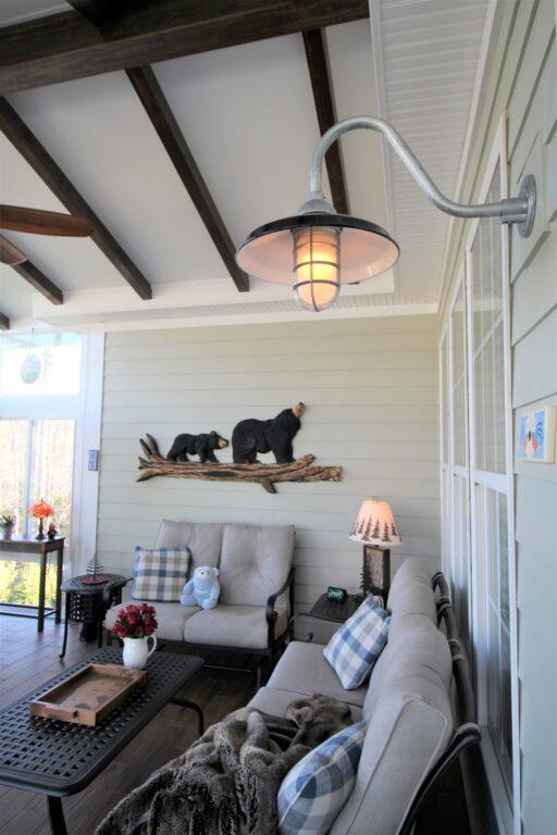 american made barn lights