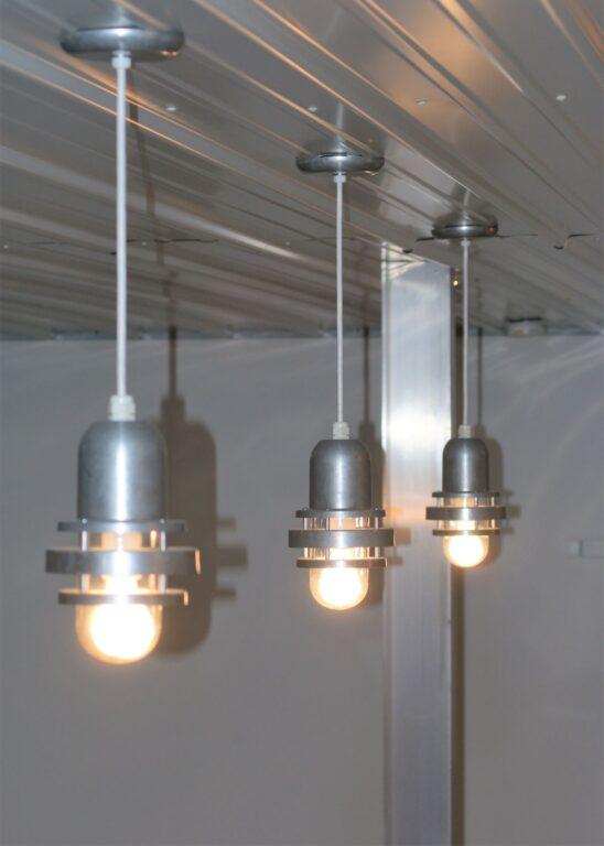 galvanized pendant lights