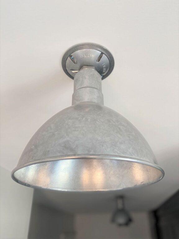 flush mount barn lights