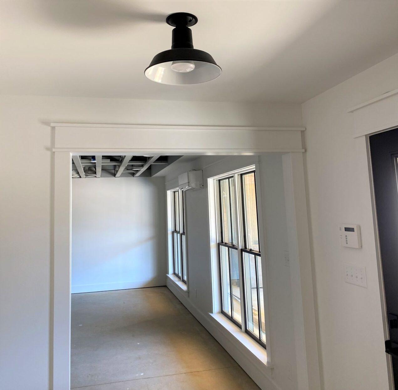 flush mount pendant light