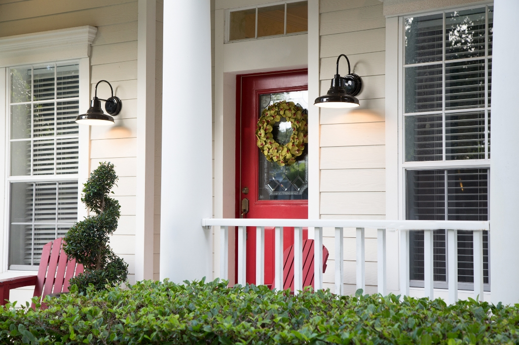 exterior wall lighting
