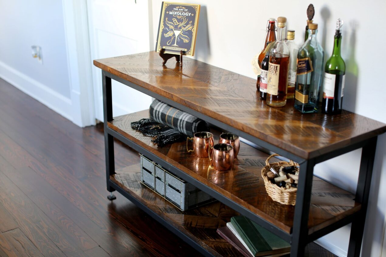 home bar table