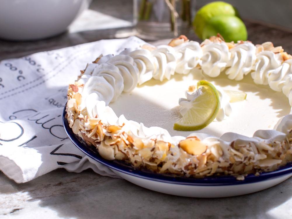 enamelware pie plate