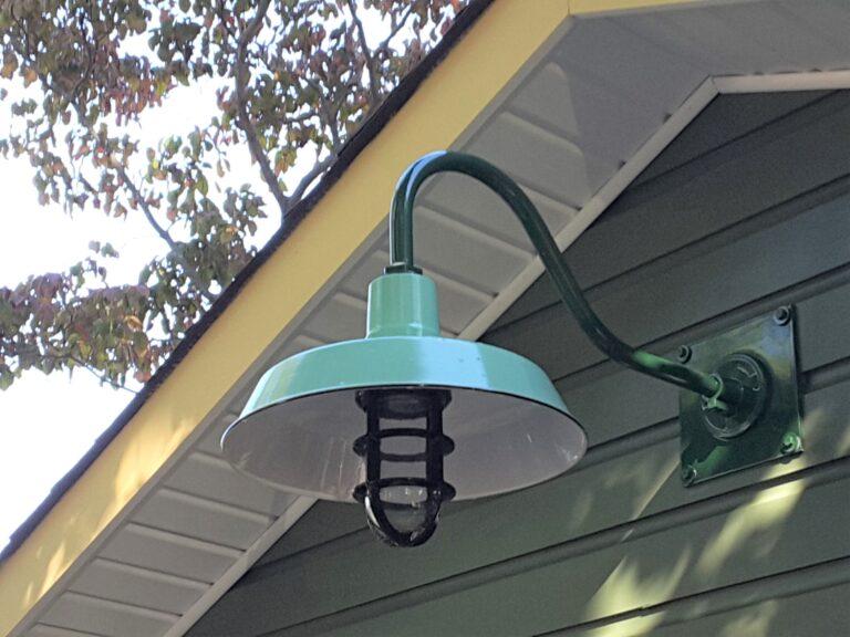 The Original™ Warehouse Nautical LED Gooseneck Light Barn Light Electric Modern LED Garage Lighting