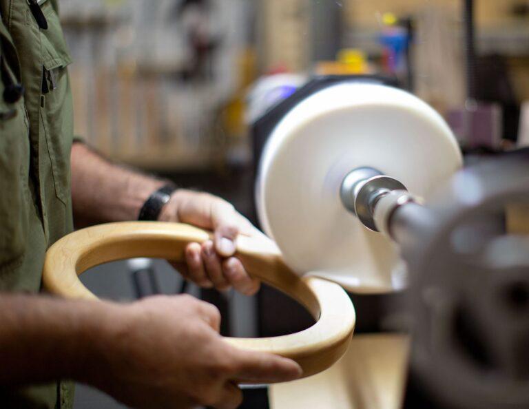 Timber Ore Arcadia Wooden Ring Pendant BTS 354B5557