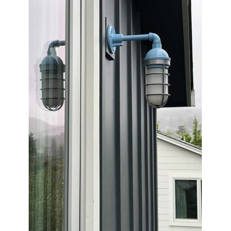 Industrial Guard Sconce Barn Light Electric Outdoor Exterior Lighting brg8 40
